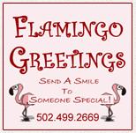 Flamingo  Greetings: Birthday Lawn Decorations